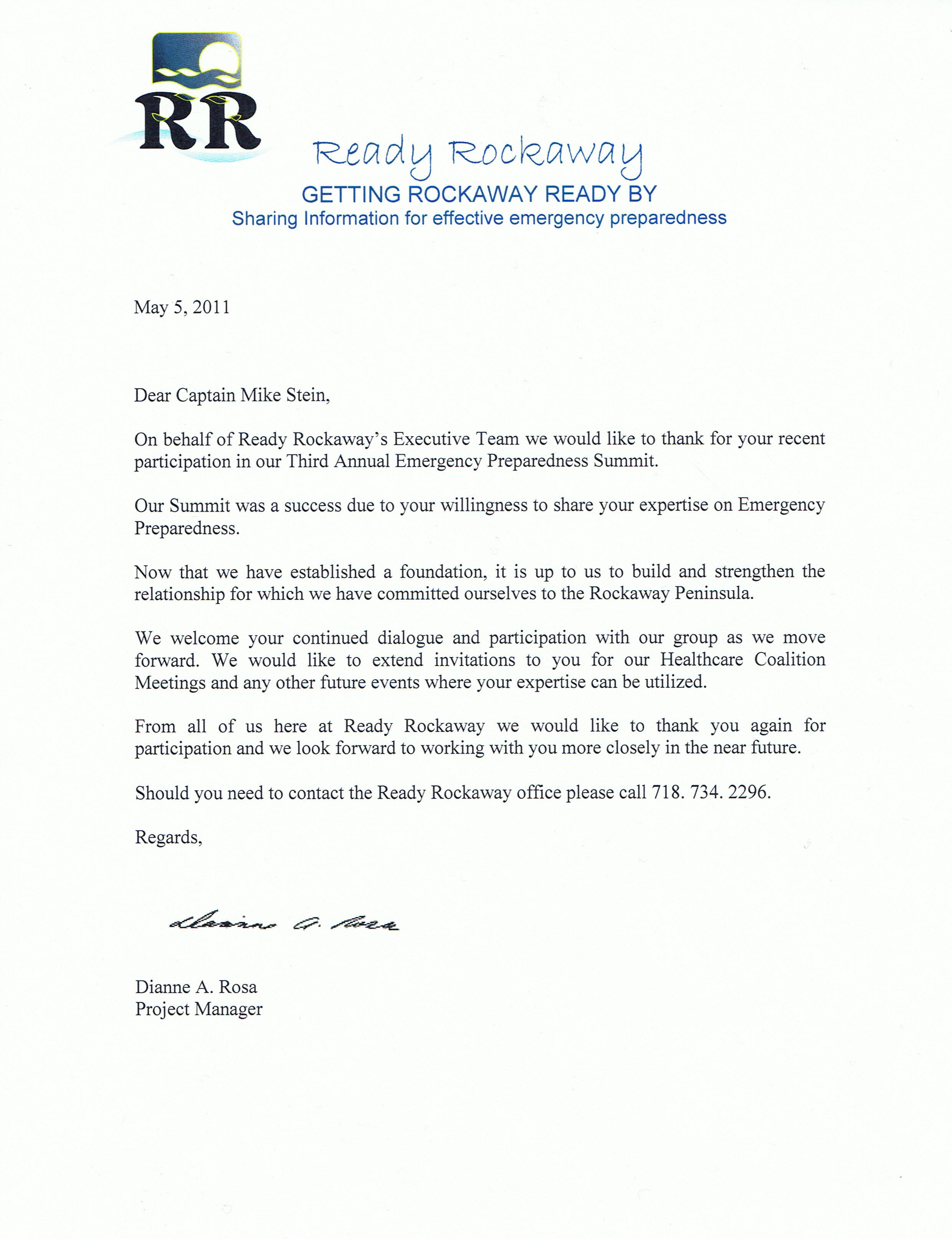 Business Thanks Letter Sle   Images  Business Letter Kindly